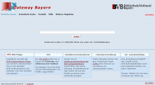 Fernleihe über den OPAC/Gateway Bayern
