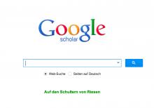 Recherchieren mit Google Scholar