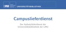 Der Campuslieferdienst